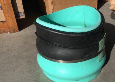 Large PVC Fitting