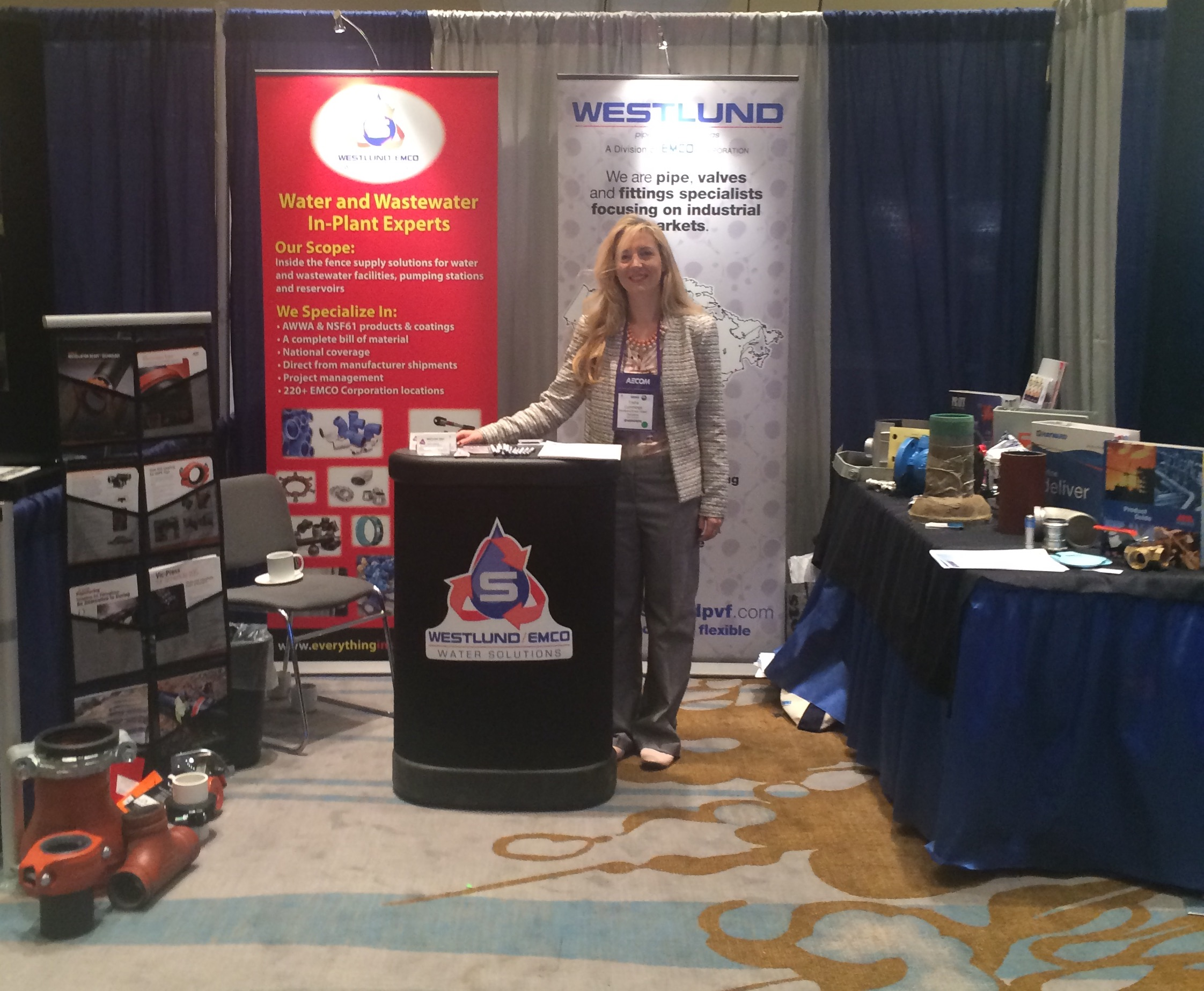 Westlund/Emco Water Solutions Booth - Water Conference, April 2015
